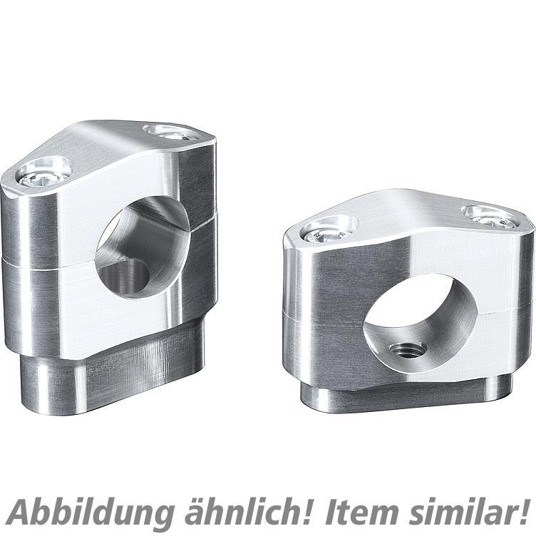 Image of ABM Booster Klemmbocksatz für konische Lenker 25mm schwarz