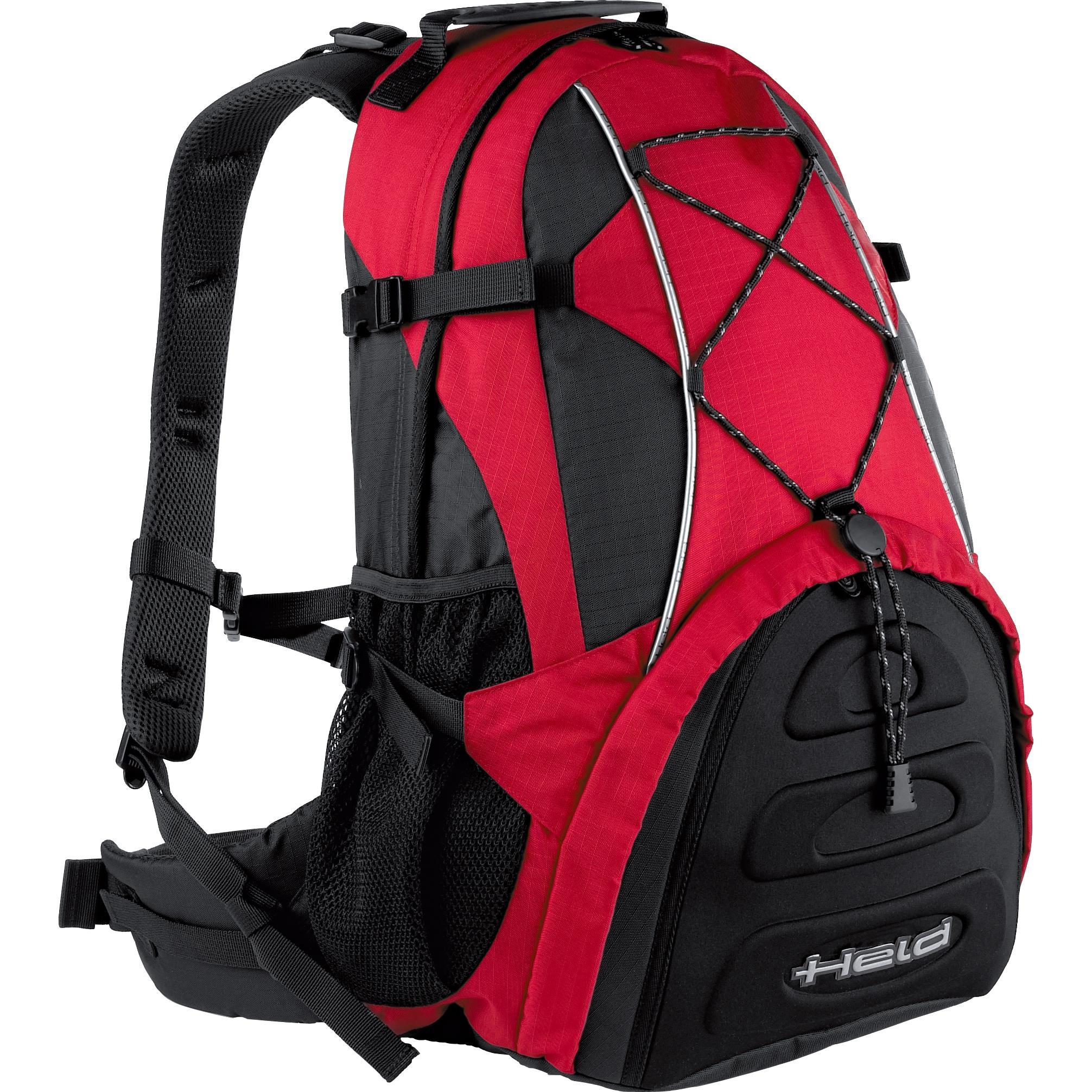 Held Rucksack Adventure schwarz-rot