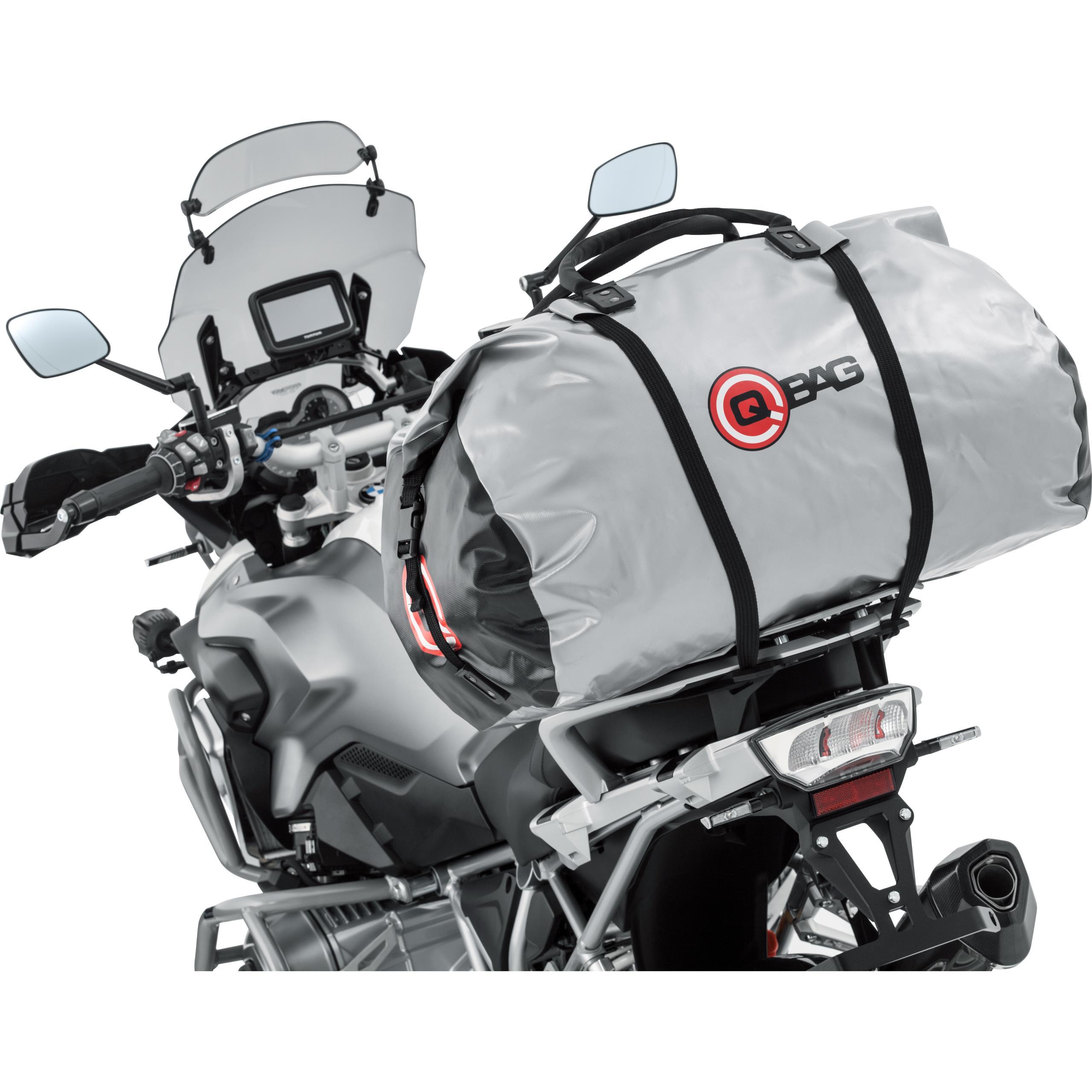 <br /><br /><b>Artikel: </b>Qbag Gepäckrolle Silber 76 Liter
