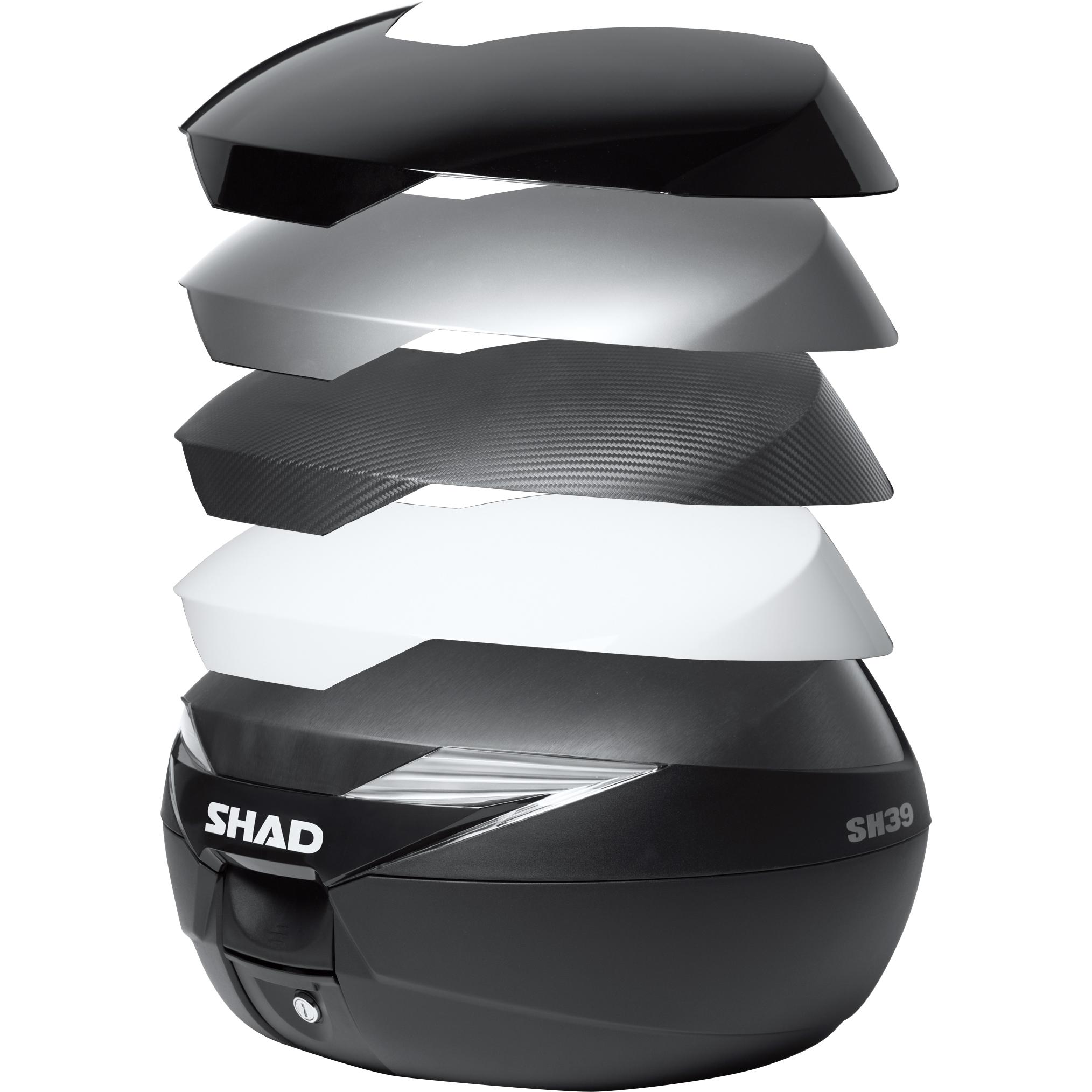 Shad Deckelcover für SH39 Topcase unlackiert 70210200163