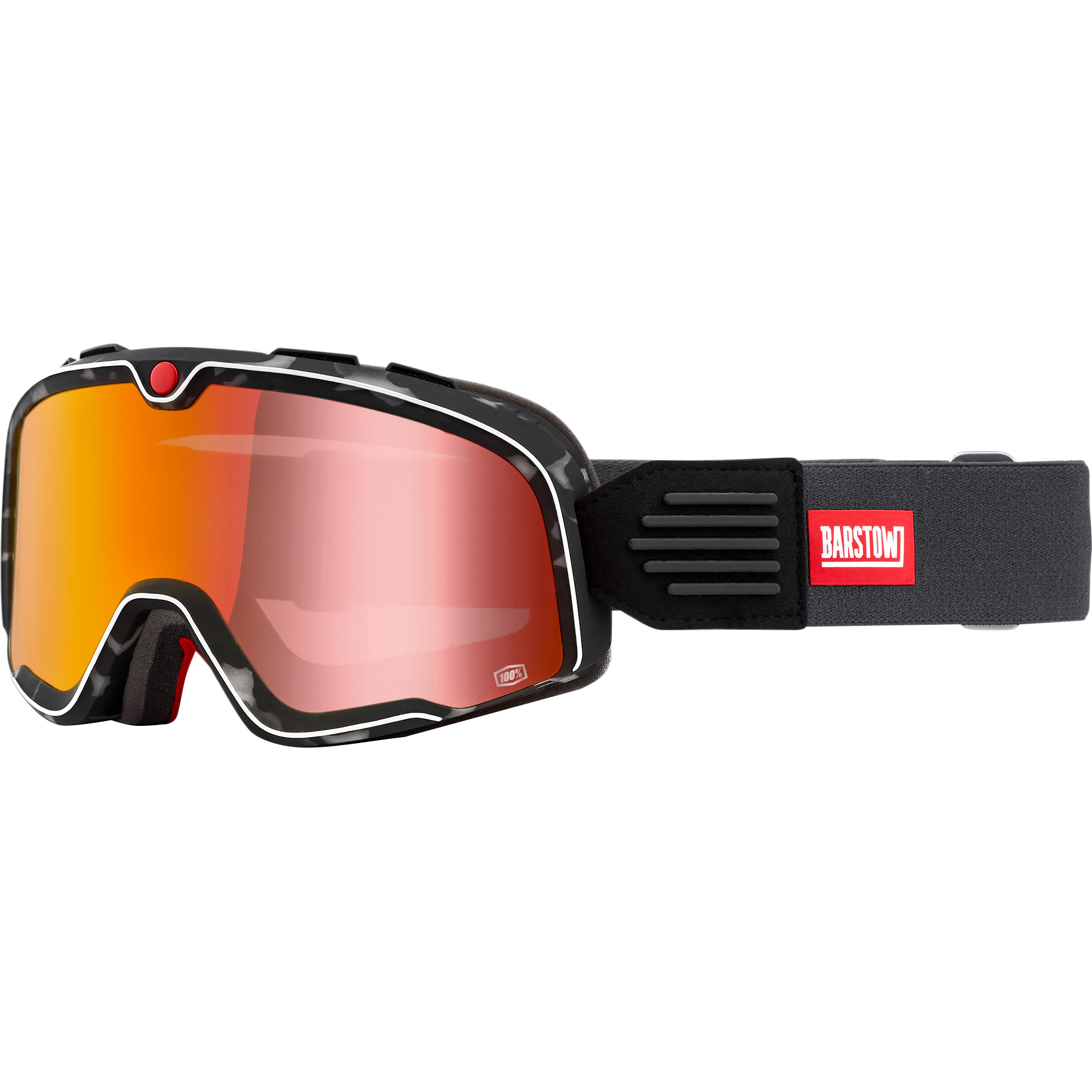 Image of 100% Barstow Crossbrille rot